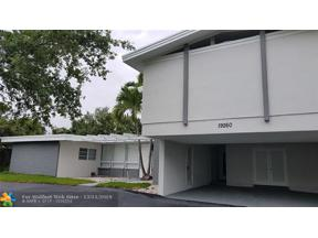Property for sale at 19260 NE 22nd Ave, North Miami Beach,  Florida 33180
