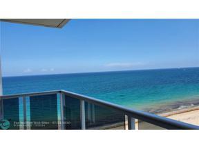 Property for sale at 3700 Galt Ocean Dr Unit: 1007, Fort Lauderdale,  Florida 33308