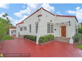 Property for sale at 519 W 29th St, Miami Beach,  Florida 33140