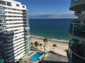 Property for sale at 3410 Galt Ocean Dr Unit: 1207, Fort Lauderdale,  Florida 33308