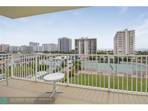 Property for sale at 3020 NE 32nd Ave Unit: 903, Fort Lauderdale,  Florida 33308