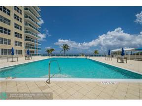Property for sale at 3900 Galt Ocean Dr Unit: 1609, Fort Lauderdale,  Florida 33308