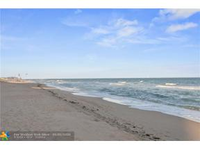 Property for sale at 730 N Ocean Blvd Unit: 1203, Pompano Beach,  Florida 33062