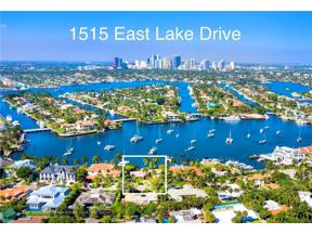 Property for sale at 1515 E Lake Dr, Fort Lauderdale,  Florida 33316