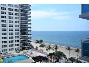 Property for sale at 3430 Galt Ocean Dr Unit: 704, Fort Lauderdale,  Florida 33308