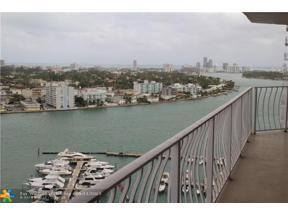 Property for sale at 7601 E Treasure Dr Unit: 2212, North Bay Village,  Florida 33141
