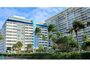 Property for sale at 4040 Galt Ocean Dr Unit: 815, Fort Lauderdale,  Florida 33308