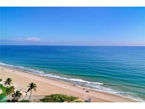 Property for sale at 1600 S Ocean Blvd Unit: 2004, Pompano Beach,  Florida 33062