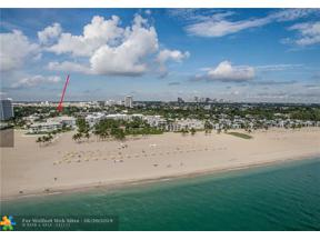 Property for sale at 1750 S Ocean Ln Unit: 105, Fort Lauderdale,  Florida 33316