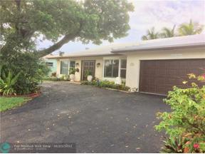 Property for sale at 1416 NE 55th St, Fort Lauderdale,  Florida 33334