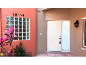 Property for sale at 16354 Malibu Dr Unit: 35, Weston,  Florida 33326
