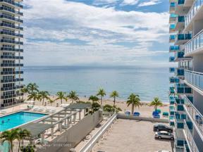 Property for sale at 3430 Galt Ocean Drive Unit: 702, Fort Lauderdale,  Florida 33308