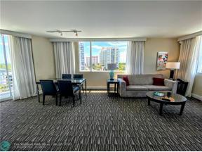 Property for sale at 2670 E Sunrise Blvd Unit: 601, Fort Lauderdale,  Florida 33304