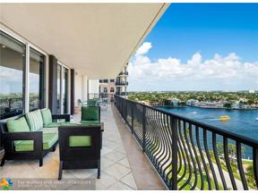 Property for sale at 100 S Birch Unit: 1402C, Fort Lauderdale,  Florida 33316