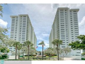 Property for sale at 3400 Galt Ocean Dr Unit: 1008S, Fort Lauderdale,  Florida 33308