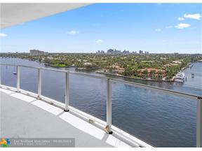Property for sale at 321 N Birch Rd. Unit: PH1102, Fort Lauderdale,  Florida 33304