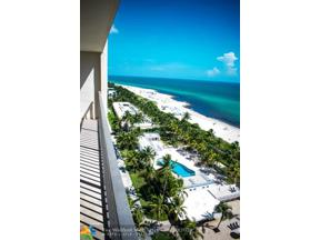 Property for sale at 2625 Collins Ave Unit: 1604, Miami Beach,  Florida 33140