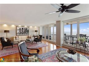 Property for sale at 2200 S Ocean Ln Unit: 2205, Fort Lauderdale,  Florida 33316