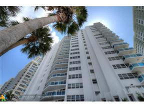 Property for sale at 3430 Galt Ocean Dr Unit: 710, Fort Lauderdale,  Florida 33308