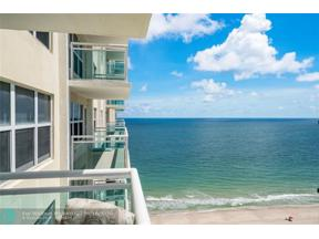 Property for sale at 3900 Galt Ocean Unit: 1804, Fort Lauderdale,  Florida 33308