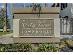Property for sale at 396 City View Dr Unit: 396, Fort Lauderdale,  Florida 33311