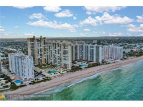 Property for sale at 4280 Galt Ocean Dr Unit: 23A, Fort Lauderdale,  Florida 33308
