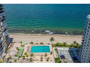 Property for sale at 4280 Galt Ocean Dr Unit: 23A, Fort Lauderdale,  Florida 33308
