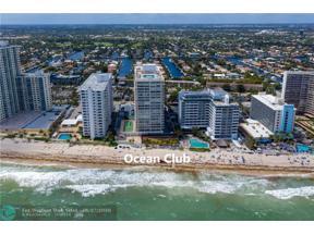 Property for sale at 4020 Galt Ocean Dr Unit: 205, Fort Lauderdale,  Florida 33308