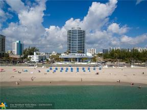 Property for sale at 701 N Fort Lauderdale Beach Blvd Unit: 1102, Fort Lauderdale,  Florida 33304