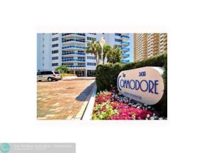 Property for sale at 3430 Galt Ocean Dr Unit: 1212, Fort Lauderdale,  Florida 33308