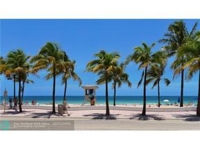 Property for sale at 3430 Galt Ocean Dr Unit: 212, Fort Lauderdale,  Florida 33308