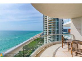 Property for sale at 16051 Collins Ave Unit: 1202, Sunny Isles Beach,  Florida 33160