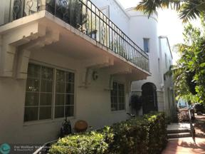 Property for sale at 1510 Meridian Ave Unit: 6, Miami Beach,  Florida 33139