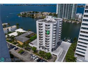 Property for sale at 7933 West Dr Unit: 817, North Bay Village,  Florida 33141