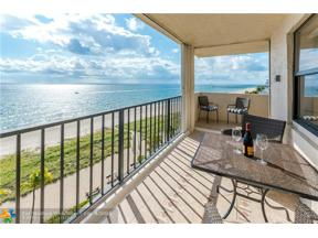 Property for sale at 5000 N Ocean Blvd Unit: 811, Lauderdale By The Sea,  Florida 33308