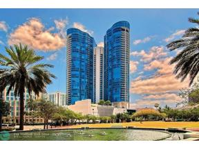 Property for sale at 333 Las Olas Way Unit: 4206, Fort Lauderdale,  Florida 33301