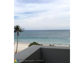 Property for sale at 4250 Galt Ocean Drive Unit: 4 R, Fort Lauderdale,  Florida 33308