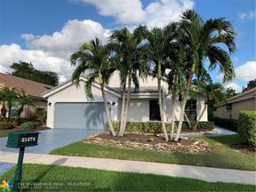 Property for sale at 21374 Bridge View Dr, Boca Raton,  Florida 33428