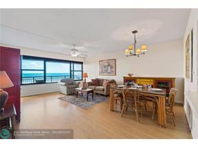 Property for sale at 3800 Galt Ocean Dr Unit: 301, Fort Lauderdale,  Florida 33308