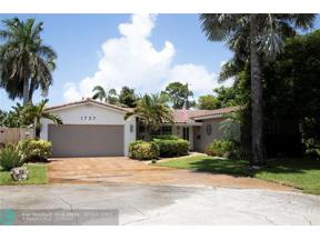 Property for sale at 1737 NE 58th St, Fort Lauderdale,  Florida 33334
