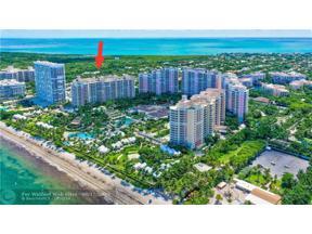 Property for sale at 799 Crandon Blvd Unit: 1207, Key Biscayne,  Florida 33149