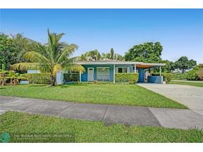 Property for sale at 3410 SW 20th Street, Fort Lauderdale,  Florida 33312