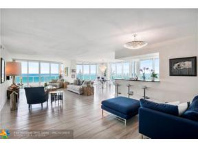 Property for sale at 101 S Fort Lauderdale Beach Blvd Unit: 1101, Fort Lauderdale,  Florida 33316