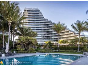 Property for sale at 2200 N Ocean Blvd Unit: N702, Fort Lauderdale,  Florida 33305