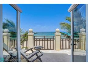Property for sale at 4340 El Mar Dr Unit: 3, Lauderdale By The Sea,  Florida 33308