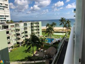 Property for sale at 1770 S Ocean Blvd Unit: 608, Lauderdale By The Sea,  Florida 33062