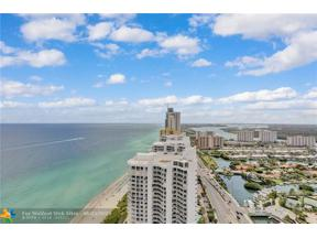 Property for sale at 16699 Collins Ave Unit: 4009, Sunny Isles Beach,  Florida 33160