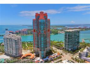 Property for sale at 300 S Pointe Dr Unit: 3504, Miami Beach,  Florida 33139