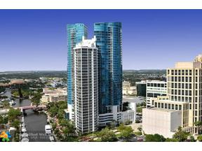 Property for sale at 333 Las Olas Way Unit: 4007, Fort Lauderdale,  Florida 33301