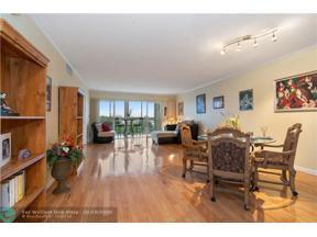 Property for sale at 2829 NE 33rd Ct Unit: 401, Fort Lauderdale,  Florida 33306